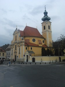 Karmelitánský kostel, postavený 1721-1725.